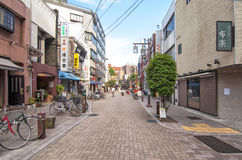 Neighborhood Yanaka,Tokyo Stock Photo