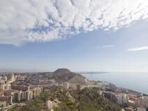 Neighborhoods Alicante and the Costa Blanca coastline Stock Photos