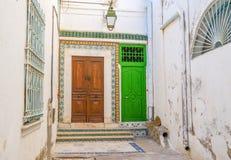 The neighboring doors Royalty Free Stock Image