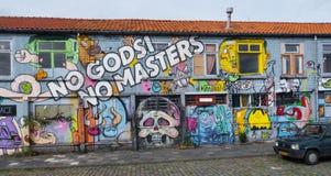 Neighbourhood, Graffiti, Town, Street Art Royalty Free Stock Photos