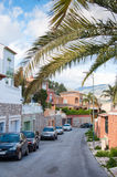 Neighbourhood in Malaga, Spain Royalty Free Stock Image