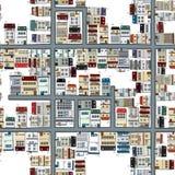 Neighbourhood pattern Stock Photos