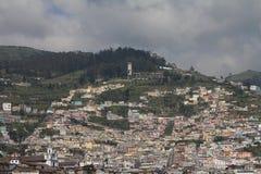 Neighbourhood w Quito Zdjęcie Royalty Free