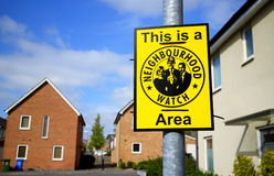 Neighbourhood Watch Area Royalty Free Stock Image