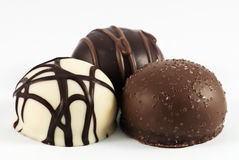 Neigung in der Schokolade Lizenzfreie Stockfotos