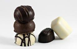 Neigung in der Schokolade Stockfotografie