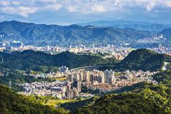 Neihu, Taipei. Taipei, Taiwan at Neihu District Royalty Free Stock Photography