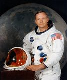 Neil Armstrong portrait Stock Photos