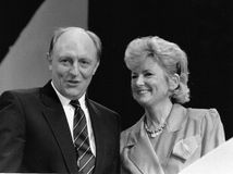 Neil & Glenys Kinnock Royalty Free Stock Photography