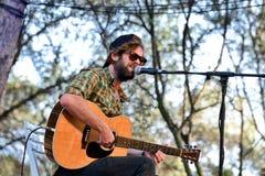 Neil Halstead (faixa) no concerto em Vida Festival Fotos de Stock Royalty Free