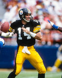 Neil O'Donnell Pittsburgh Steelers royaltyfria foton