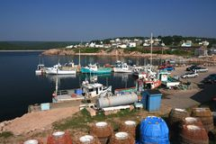 Neil's Harbour Nova Scotia Stock Photo
