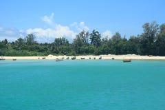 Neil wyspa (Andaman)--9 zdjęcie stock