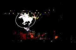 Neil Young and The Crazy Horse Live Royalty Free Stock Photos
