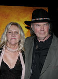 Neil Young. HOLLYWOOD, CALIFORNIA. February 7, 2006. Neil Young attends the Los Angeles Premiere of Neil Young: Heart of Gold held at the Paramount Pictures Royalty Free Stock Photos