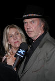 Neil Young. HOLLYWOOD, CALIFORNIA. February 7, 2006. Neil Young attends the Los Angeles Premiere of Neil Young: Heart of Gold held at the Paramount Pictures Royalty Free Stock Images
