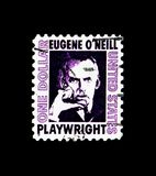 ` Neill de Eugene O 188-1953, dramaturgo, serie famoso de los americanos, circa 1973 Fotografía de archivo libre de regalías