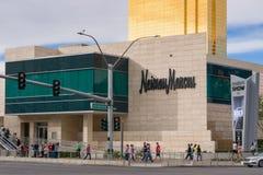 Neiman Marcus Exterior al centro commerciale Las Vegas della sfilata di moda Fotografia Stock