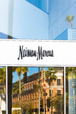 Neiman Marcus Store Exterior et logo Photo stock