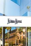 Neiman Marcus Store Exterior und Logo Stockfoto