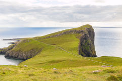 Neist Point Cliffs Royalty Free Stock Images