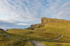 Neist Point Cliffs Royalty Free Stock Photography