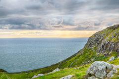 Neist Point Cliffs HDR Stock Photography