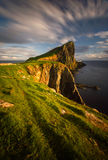 Neist Point cliffs royalty free stock photos