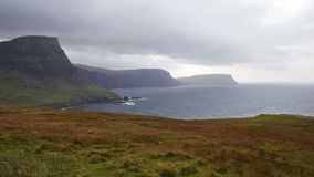 Neist point on the Isle of Skye stock video