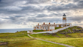 Neist Point Lighthouse HDR Stock Photos