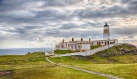 Neist Point Lighthouse HDR Stock Photos