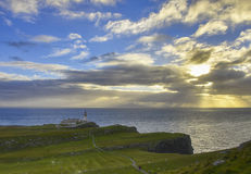 Neist Point Lighthouse Royalty Free Stock Photo
