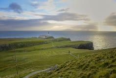 Neist Point Lighthouse Royalty Free Stock Image