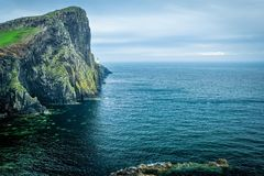 Neist Point Lighthouse royalty free stock photos