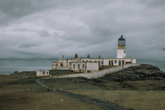 Neist Point Lighthouse In Skye Stock Photography