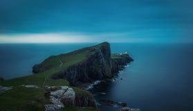 Neist Point Lighthouse United Kingdom royalty free stock images
