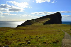 Neist Point peninsula Stock Images