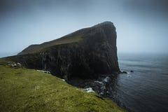 Neist punkt i det västra av ön av Skye arkivbilder