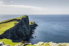 Neist punkt - wyspa Skye obrazy stock
