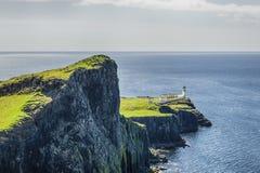 Neist punkt - wyspa Skye fotografia royalty free