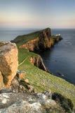Neistpunt, Eiland van Skye, Schotland Stock Foto's