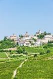 Neive, Italie photos libres de droits