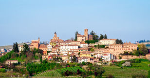Neive, Le Langhe images stock