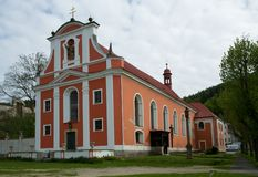 Nejdek,捷克共和国 免版税图库摄影