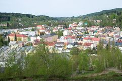 Nejdek, república checa Imagens de Stock
