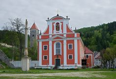 Nejdek, república checa Foto de Stock Royalty Free