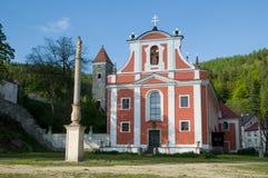 Nejdek Tjeckien Arkivbilder