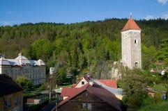 Nejdek Tjeckien royaltyfri fotografi
