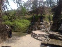 Nek Chand Rock Garden, Chandigarh, Indien Royaltyfri Fotografi