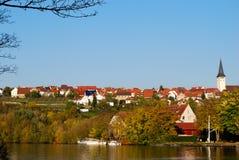 nekar freiberg rzeka Zdjęcie Royalty Free
